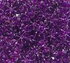 Dark Amethyst 18mm Starflake Sunburst Craft Beads 150pc