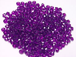 Dark Amethyst 6mm Rondelle faceted spacer beads 1000pc