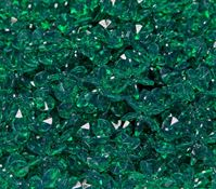 Emerald 18mm Starflake Sunburst Craft Beads 150pc starflake,sunburst,hobby,crafts,beads