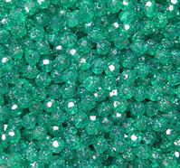 Emerald Sparkle 8mm Faceted Round Beads facted,beads,crafts,plastic,acrylic,round,colors,beading,stores