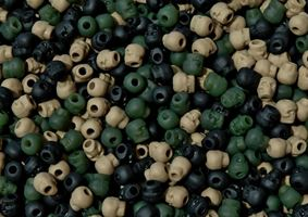 Flat Camo Mix Skull Beads skulls,beads,crafts,head,paracord,jewelry