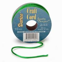 Green Satin Rattail 2mm x 10yds satin,rattail,string,cord