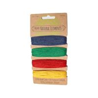 Hemp Cord Set - Multi Colors 20lb  120ft hemp,cord,twine,strings,crafts,beading