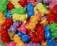 Piglet Charms Multi colors 25pc pig,piggy,piglet,charms,beads,crafts