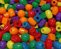 Jumbo 25mm Assorted Shapes Colors Jumbo,bird,toy,beads,kids,fun,craafts
