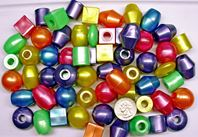 Jumbo 25mm Assorted Shapes Pearl Colors Jumbo,bird,toy,beads,kids,fun,crafts
