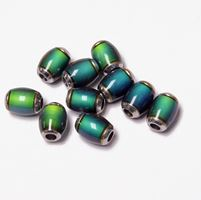Mood Beads Mirage Color Changing 10x6mm 10pc