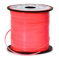 Neon Red Rexlace 100yds rexlace,plastic,lace,cord
