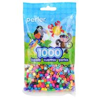 Multi Colors Perler fusing beads, 1,000pc package