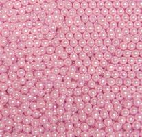 Pearl Pink 6mm Round Plastic Beads beads,crafts,plastic,acrylic,round,colors,beading,stores