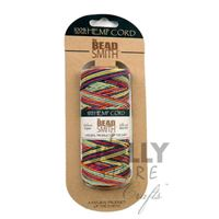 Rainbow Hemp Cord 20lb. 197ft hemp,cord,twine,strings,crafts,beading