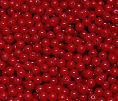 Red 6mm Round Plastic Beads beads,crafts,plastic,acrylic,round,colors,beading,stores