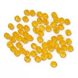 Transparent Acid Yellow 8mm Faceted Round Beads facted,beads,crafts,plastic,acrylic,round,colors,beading,stores