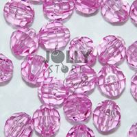 Transparent Amethyst Light 6mm Faceted Round Beads facted,beads,crafts,plastic,acrylic,round,colors,beading,stores