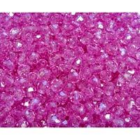 8mm Faceted Craft Beads, Light Amethyst
