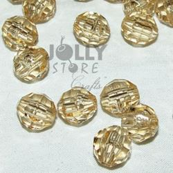 Transparent Champagne 6mm Faceted Round Beads facted,beads,crafts,plastic,acrylic,round,colors,beading,stores