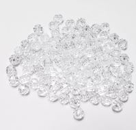 Transparent Crystal 6mm Faceted Round Beads facted,beads,crafts,plastic,acrylic,round,colors,beading,stores