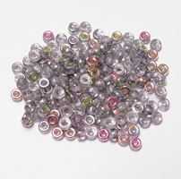 Vitrail Czech Glass 6mm Mini Pony Beads 100pc czech,Czechoslovakian,glass,crow,mini,beads,6mm,small,pony
