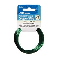 WIRE DARK GREEN 26 GAUGE 30YD