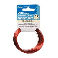 WIRE RED 26 GAUGE 30YD