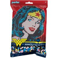 Wonder Woman Perler Beads Pattern Kit