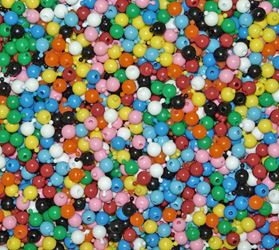 12mm Pop Beads, Multi Colors 144pc snap,pop,crafts,beads